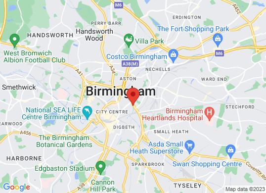 Mercedes-Benz of Birmingham Central's location