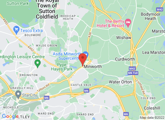 Autotrade Birmingham's location