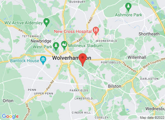 Wolverhampton VW's location
