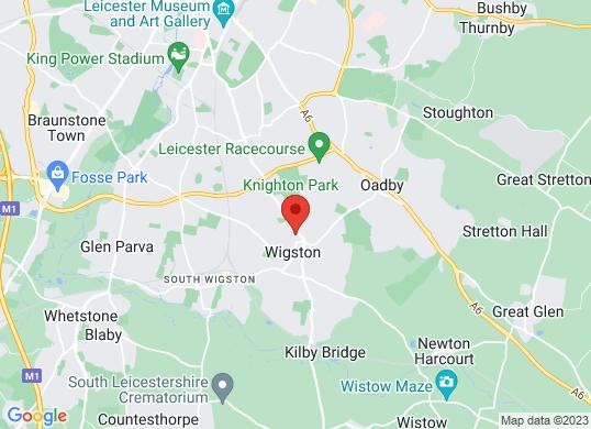 Quantum Cars of Leicester's location