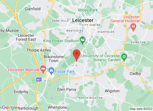 Leicester Vehicle Finance Ltd's location