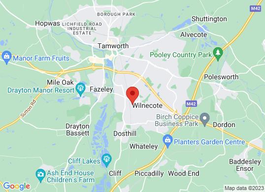 Midlands Truck and Van Ltd (Tamworth)'s location