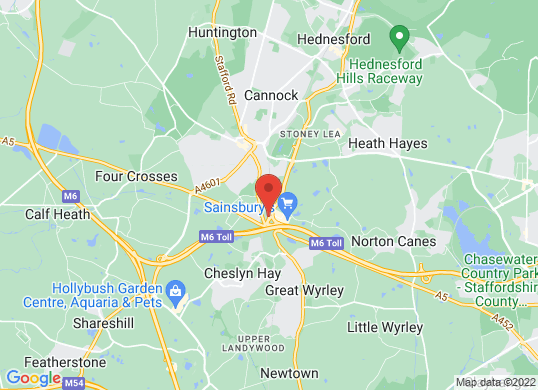 Renault Cannock's location