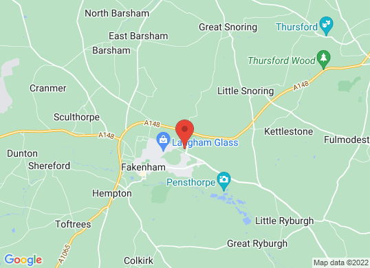 Thurlow Nunn (Fakeham)'s location