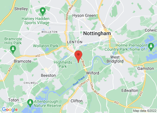 Arnold Clark Vanstore (Nottingham)'s location