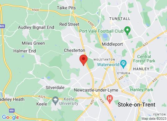 Arnold Clark Motorstore (Stoke on Trent)'s location