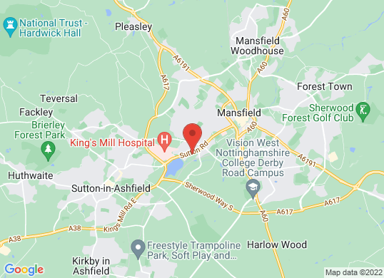 Pentagon Mansfield's location