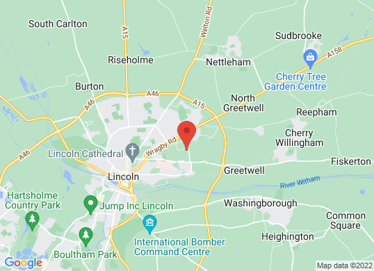 Pentagon Lincoln (Outer Circle Road)'s location