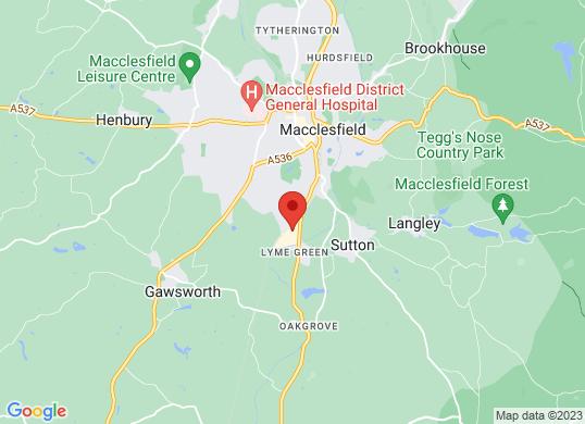 Bristol Street Macclesfield Ford's location