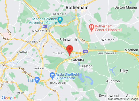 The Car People (Sheffield)'s location