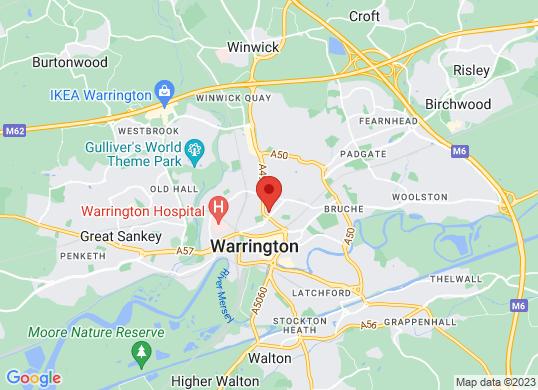 Warrington Motors (Fiat & Nissan)'s location