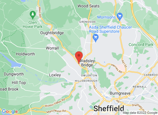 SEAT Sheffield's location