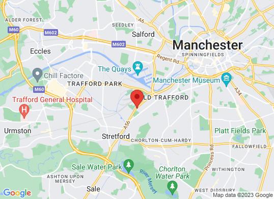 Arnold Clark Vauxhall (Manchester)'s location