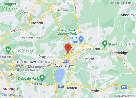 The Car People (Manchester)'s location