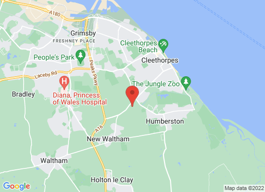 Grimsby Audi's location