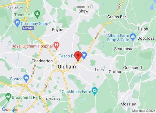 Oldham Motors (Fiat & Volvo)'s location