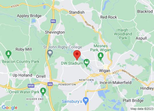 Arnold Clark Renault/Dacia (Wigan)'s location