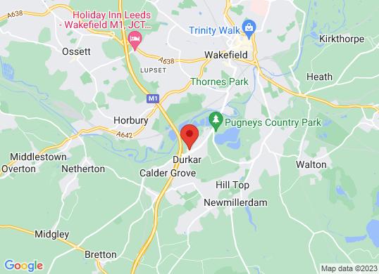 Arnold Clark Vanstore (Wakefield)'s location