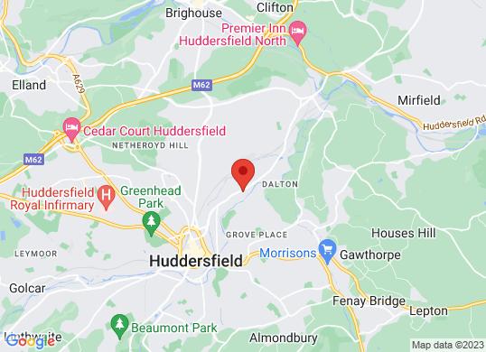 Arnold Clark Motorstore (Huddersfield)'s location