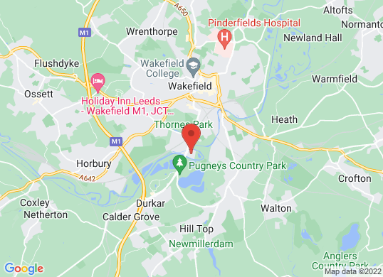 The Car People (Wakefield)'s location