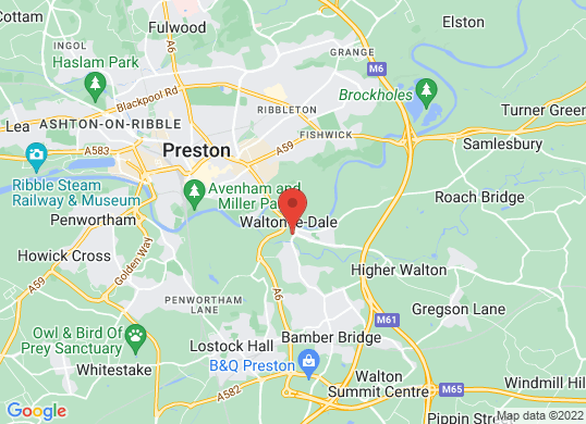 Fred Coupe (Preston) Limited's location