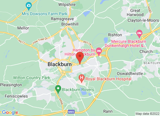Blackburn Motor Park (Fiat Vol Ren Alfa)'s location