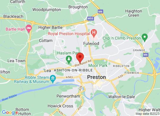 Robins & Day Peugeot Preston's location