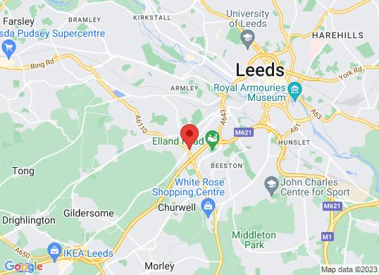 Porsche Centre (Leeds)'s location
