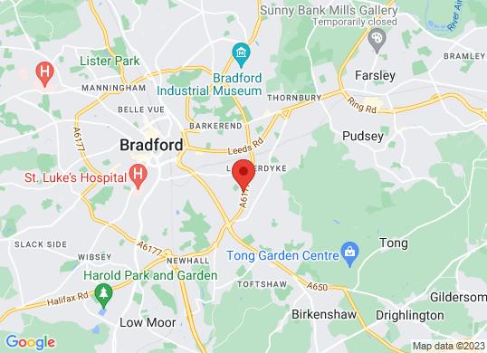 Peugeot Bradford's location