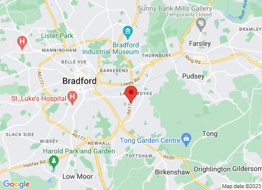 JCT600 Mazda Bradford's location