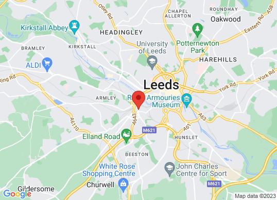 Leeds Motorstore/Fiat's location