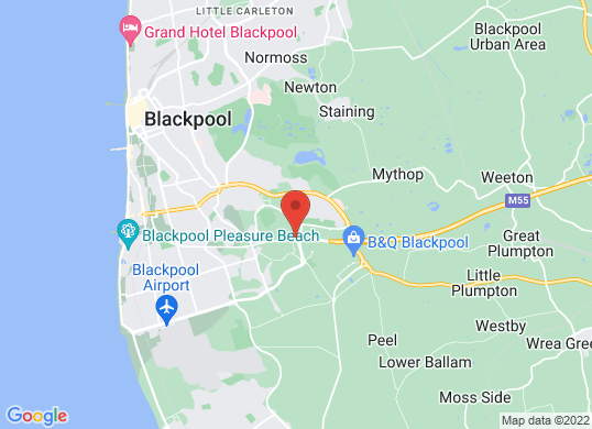 Lookers Blackpool Volkswagen (Volkswagen)'s location
