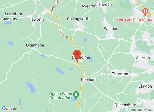 Hoyles Denholme's location