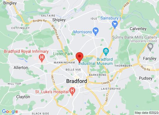 Farnell Land Rover Bradford's location