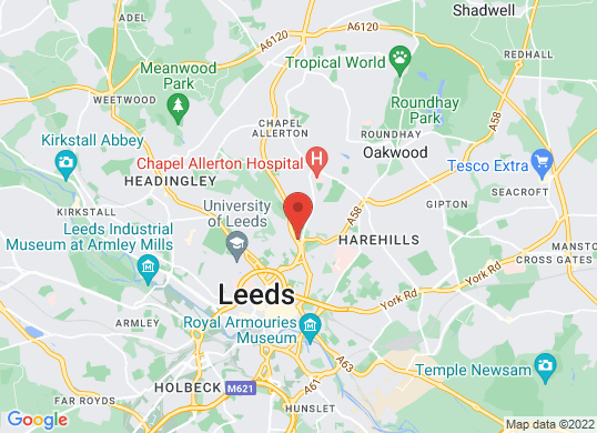 Landrover Leeds's location