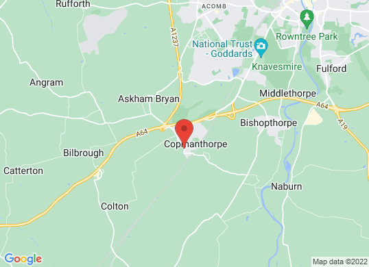 Copmanthorpe Motors's location