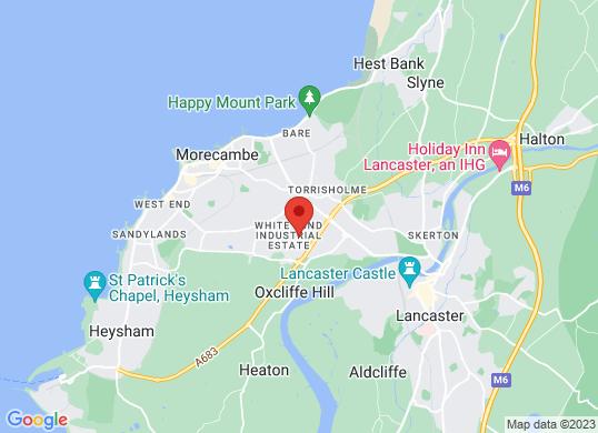 Arnold Clark Vauxhall (Morecambe)'s location