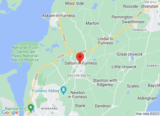 David Atkinson Car Sales's location