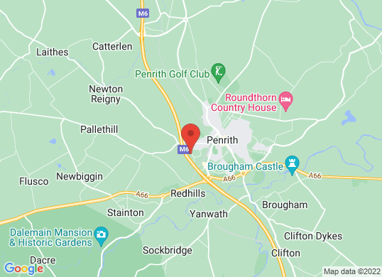 Arnold Clark Ford/Citroen (Penrith)'s location