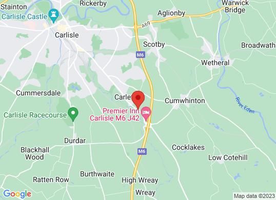 Intercars of Carlisle's location