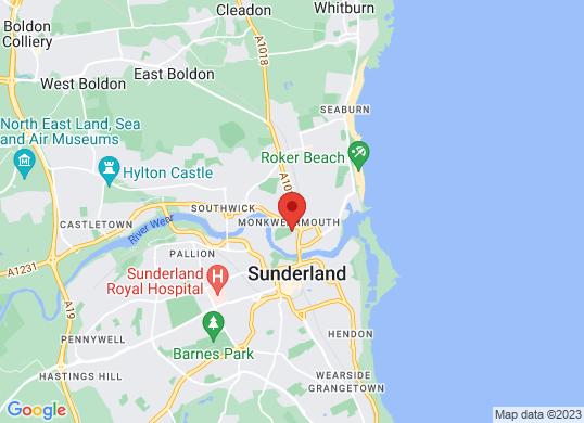 Mazda Sunderland's location