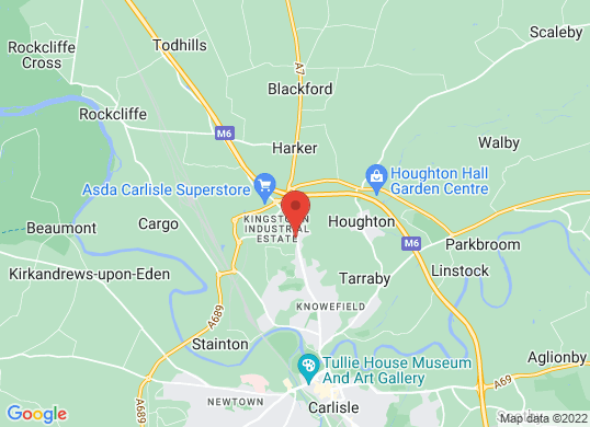 Arnold Clark Ford (Carlisle)'s location