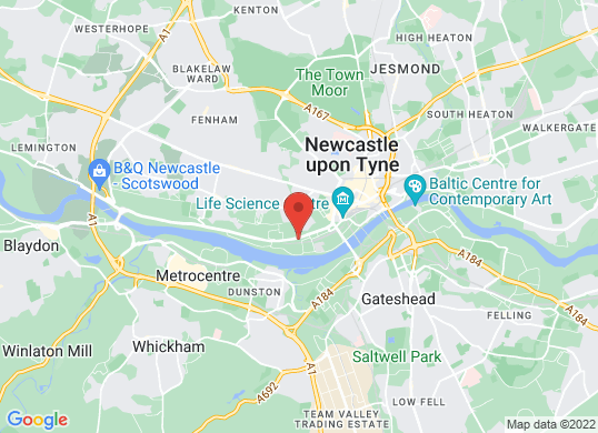 Arnold Clark Ford/SEAT (Newcastle)'s location