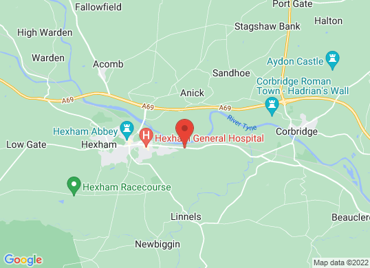Arnold Clark Ford (Hexham)'s location