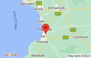 Arnold Clark Fiat  (Ayr)'s location