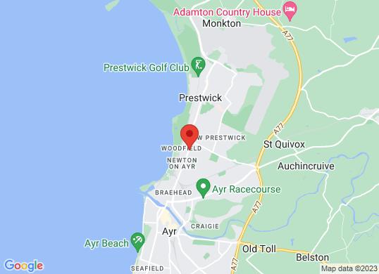 Arnold Clark Vauxhall (Ayr)'s location