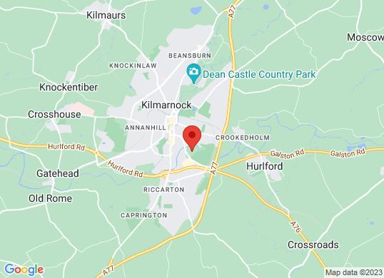 Arnold Clark Citroen (Kilmarnock)'s location