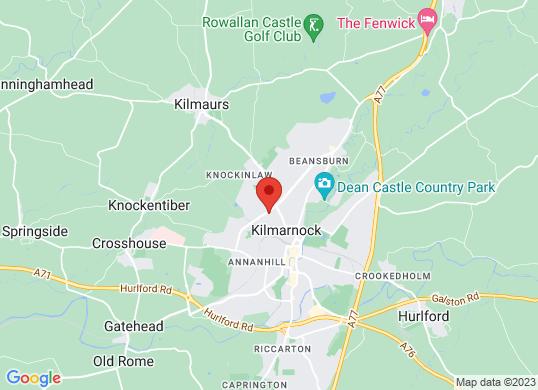 Arnold Clark Peugeot / Toyota /Prestige & Performance (Kilmarnock)'s location