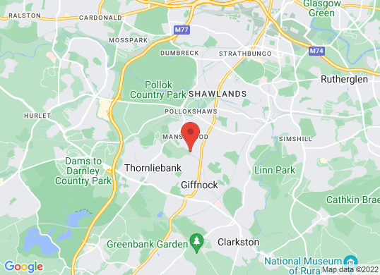 Harry Fairbairn MINI Glasgow's location