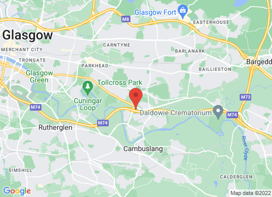 Arnold Clark Motorstore (Glasgow)'s location